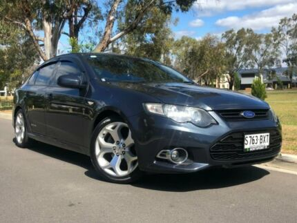 2012 Ford Falcon FG MkII XR6 Turbo Grey 6 Speed Sports Automatic Sedan Hillcrest Port Adelaide Area Preview