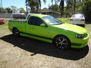 2006 Ford Falcon BF XR6 Green 4 Speed Auto Seq Sportshift Utility Oxley Brisbane South West Preview