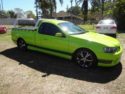2006 Ford Falcon BF XR6 Green 4 Speed Auto Seq Sportshift Utility
