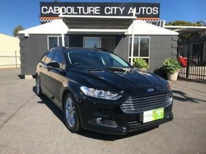 2016 Ford Mondeo MD Ambiente TDCi Black 6 Speed Automatic Wagon Morayfield Caboolture Area Preview