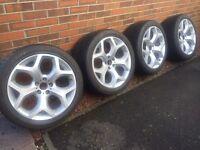 BMW X5 X6 genuine alloys and tyres