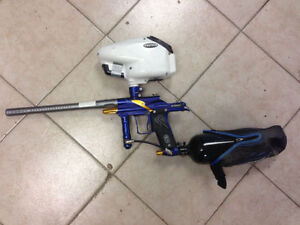 EGO PAINTBALL MACHINE WITH TANK & loader
