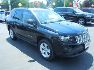 2014 JEEP COMPASS NORTH- LEATHER INTERIOR, SATELLITE RADIO, U-CO