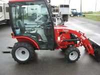 Winter is on it way Come see our TYM Tractors