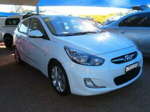 2011 Hyundai Accent RB Active White 4 Speed Sports Automatic Hatchback Minchinbury Blacktown Area Preview
