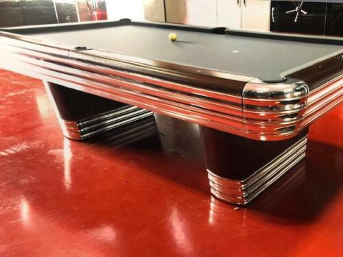 Vintage Brunswick Centennial Model Pool Table 9