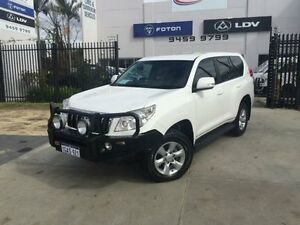 2012 Toyota Landcruiser Prado KDJ150R 11 Upgrade GXL (4x4) Glacier White 5 Speed Sequential Auto Beckenham Gosnells Area Preview