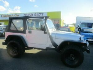 2005 Jeep Wrangler TJ MY2005 Sport Silver 6 Speed Manual Softtop