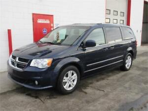 2016 Dodge Grand Caravan Crew Plus~Leather~Bluetooth~$14,999