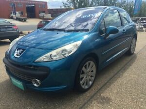 2007 Peugeot 207 A7 GT Blue 5 Speed Manual Hatchback Fyshwick South Canberra Preview