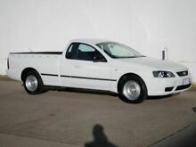 2005 Ford Falcon BA II XL White 4 Speed Automatic Utility Chifley Woden Valley Preview