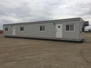 12X60 OPEN OFFICE TRAILER ON SKID Edmonton Edmonton Area image 1