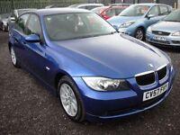 BMW 3 SERIES 2.0 320D SE 4d 161 BHP (blue) 2007