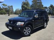 2004 Mitsubishi Pajero NP MY05 Exceed Black 5 Speed Sports Automatic Wagon Mile End South West Torrens Area Preview