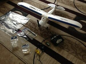 Remote control DSM Super Cub ready to fly model airplane