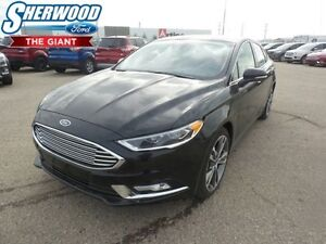 2017 Ford Fusion Titanium w/ Lane Keep System, Adaptive Cruise