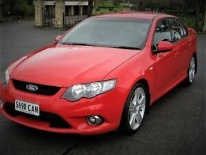 2008 Ford Falcon FG XR6 Red 5 Speed Sports Automatic Sedan Enfield Port Adelaide Area Preview