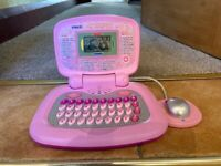 V-Tech Pink Laptop Computer