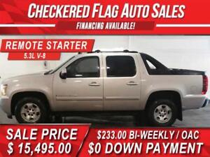 2009 Chevrolet Avalanche 1500 LT 4x4-CAR STARTER-AMAZING SHAPE