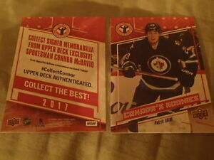 carte de hockey upper deck national hockey card day canada 2017
