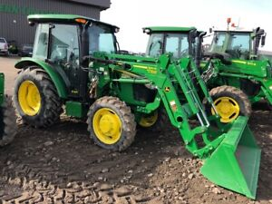 JOHN DEERE 5075E CAB&LOADER-0% FOR 84-ONLY $666. EST PER MONTH