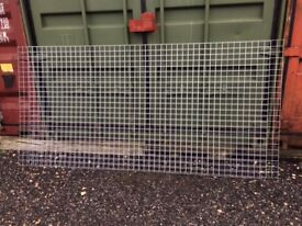 Galvanised Mesh Two Sheets