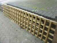 6X2 HEAVY DUTY GARDEN TRELLIS MADE FROM 40MMX20MM ALL PREASURE TREATED READY TO FIT