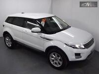 LAND ROVER RANGE ROVER EVOQUE SD4 PURE, White, Manual, Diesel, 2012