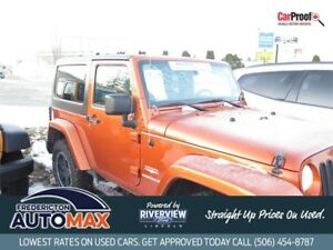 2011 Jeep Wrangler Sahara  BLOW OUT PRICE $20988