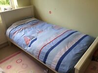 Laura Ashley white/ivory single bed, quick sale, must go this weekend!