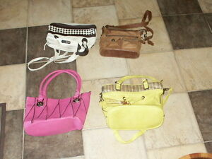 4 purses for sale individually priced - All are like new