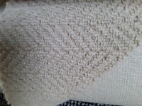 cream carpet wool blend new