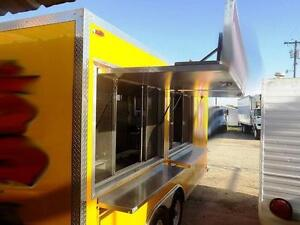 Concession trailers  and trucks - free shipping to most areas