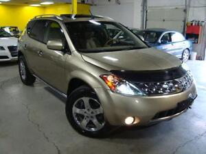 "2007 Nissan Murano SE""""BACK UP CAMERA""""LEATHER AND SUNROOF""AWD"