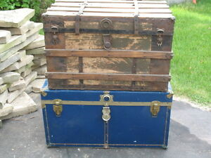 Blue Decorative Trunk * Reduced to $20 *