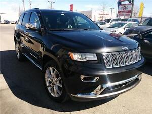 2014 Jeep Grand Cherokee SUMMIT,ECO-DIESEL,4X4, CUIR, NAV, CAM