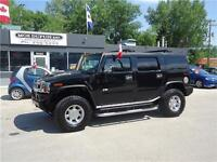 2005 HUMMER H2,LEATHER!! SUNROOF!! BLACK BEAUTY!!
