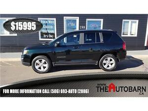 2013 JEEP COMPASS NORTH 4x4 - cruise, heated seats, only 92097km