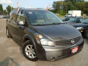 2008 Nissan Quest S DVD Power Sliding Doors 1 Owner