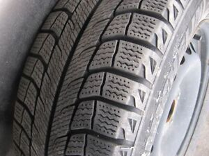 Michelin X ice Snow Tires on rims  $300.00