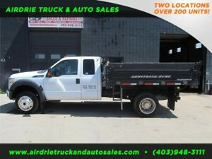 2011 Ford Super Duty F-450 DRW XLT with 9 ft Dump Box