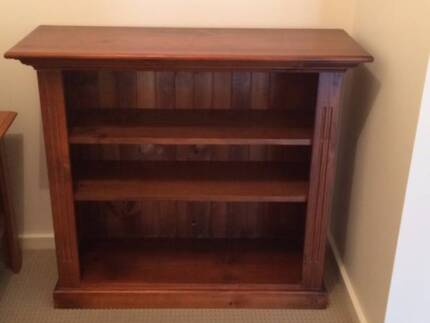 Bookcase Dark Stained Pine Kellyville The Hills District Preview
