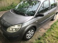 RENAULT SCENIC 1.4 GOOD CONDITION DRIVES SUPER NO FAULTS MOT TILL JANUARY 2019