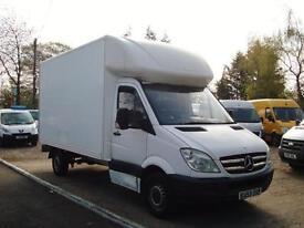 2009 MERCEDES BENZ SPRINTER 2.1 CDI 313 LWB Luton Box Van NO VAT