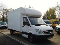 2009 MERCEDES BENZ SPRINTER 2.1 CDI 313 LWB Luton Box Van NO VAT