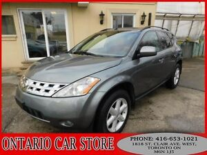 2005 Nissan Murano SE AWD LEATHER SUNROOF