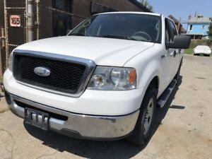 2007 Ford F-150 XLT SUPER CREW 4 DOORS DVD CERTIFIED