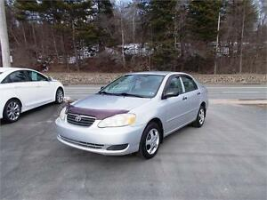 2005 TOYOTA COROLLA CE...LOADED! BRAND NEW 2YR MVI! BLOWOUT SALE