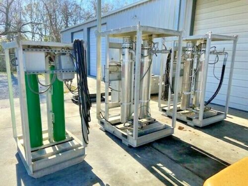 Chromalox Skid Mounted Fluid Heaters (Hot Oil Flushing)