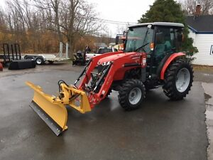 """HLA Snow Removal Attachments - 84"""" Blade - 66"""" Pusher"""